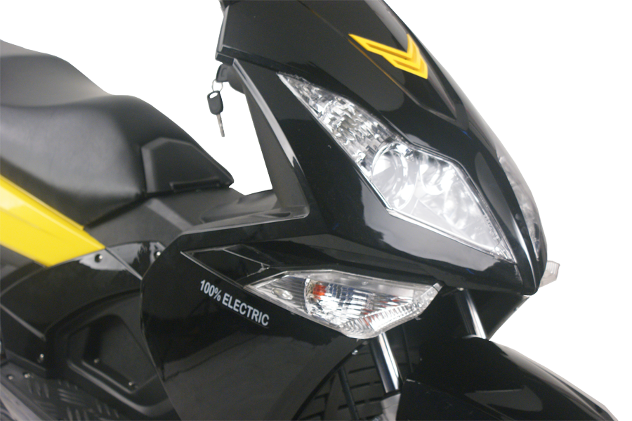 electric moped headlight lamp